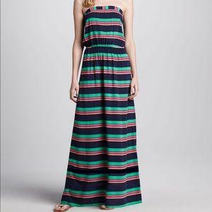 Splendid Dresses - Splendid Cannes striped maxi dress sz M
